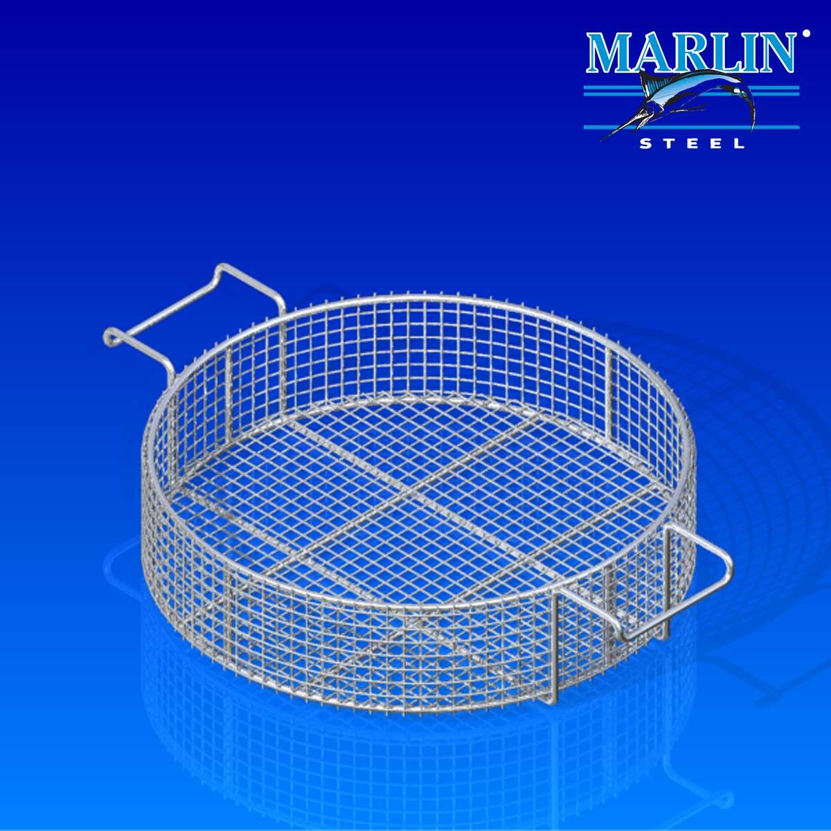 Marlin Steel Round Basket 857001