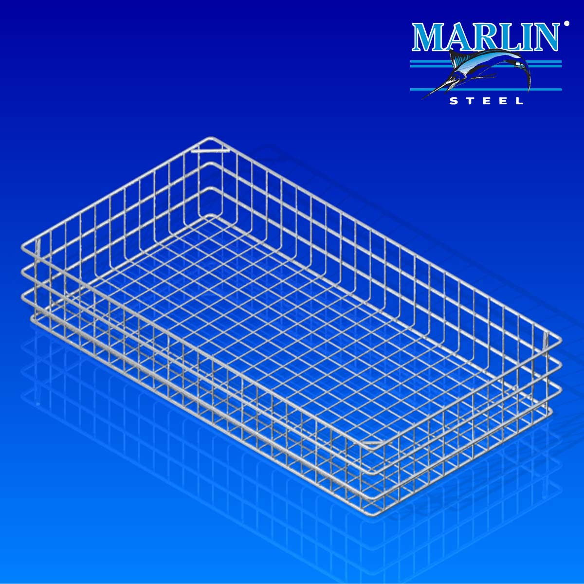 Marlin Steel Wire Basket 886001