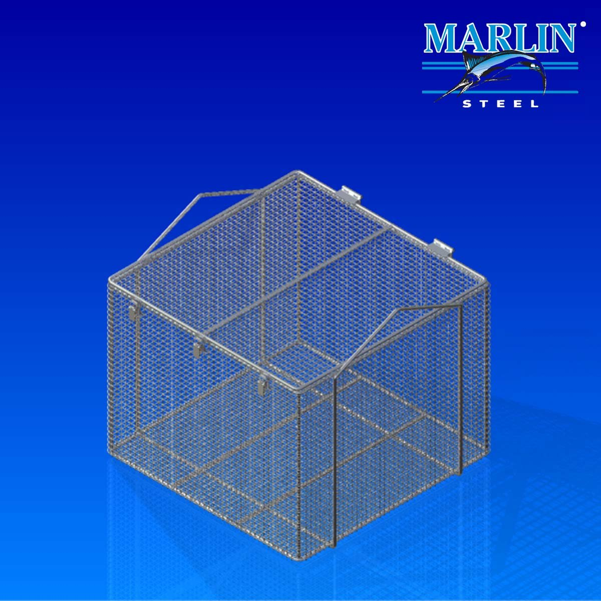 Marlin Steel Basket with Handles 920001