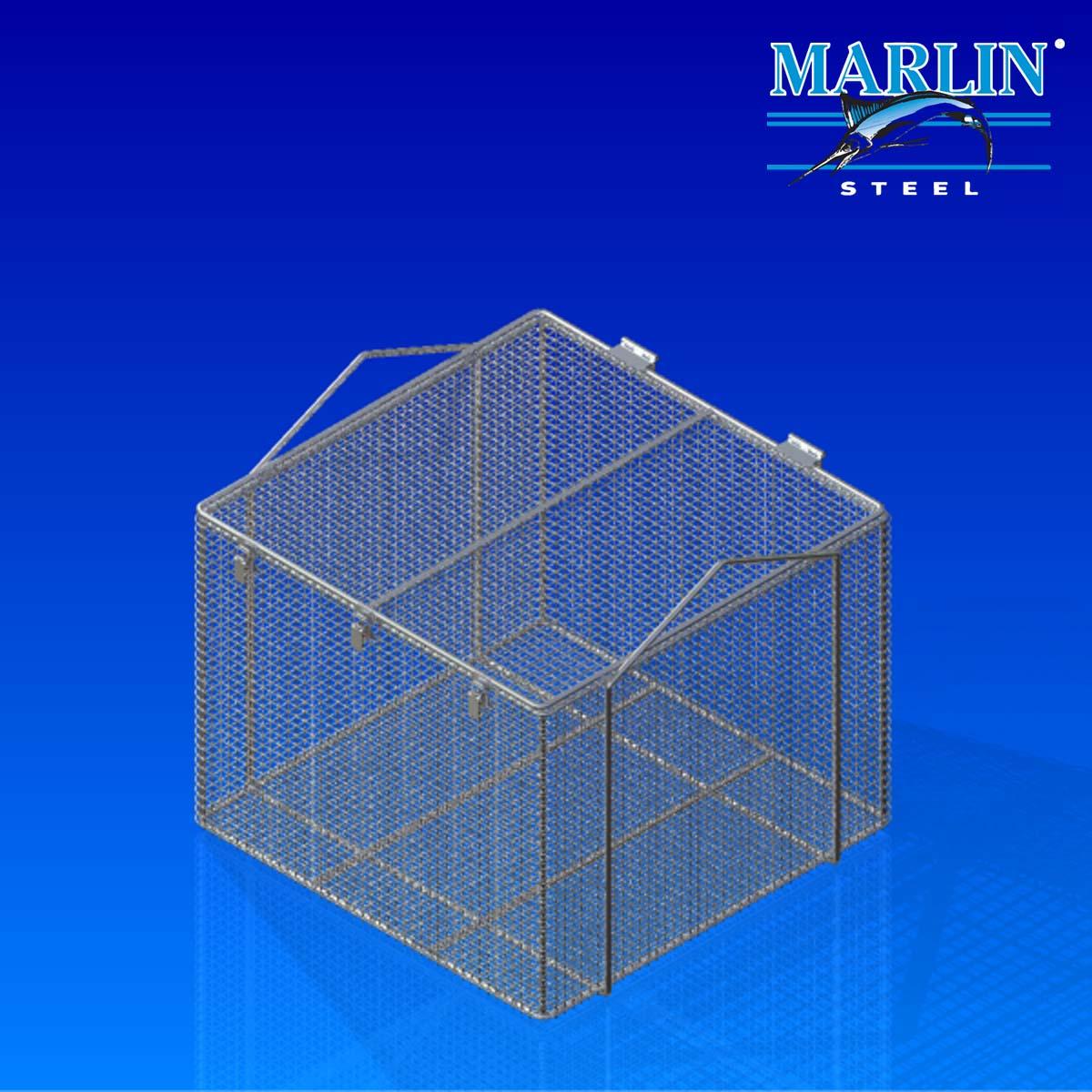 Marlin Steel Basket with Handles 920001
