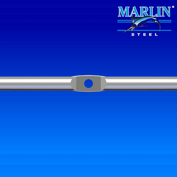 Marlin Steel Swaged Pierced Wire Form