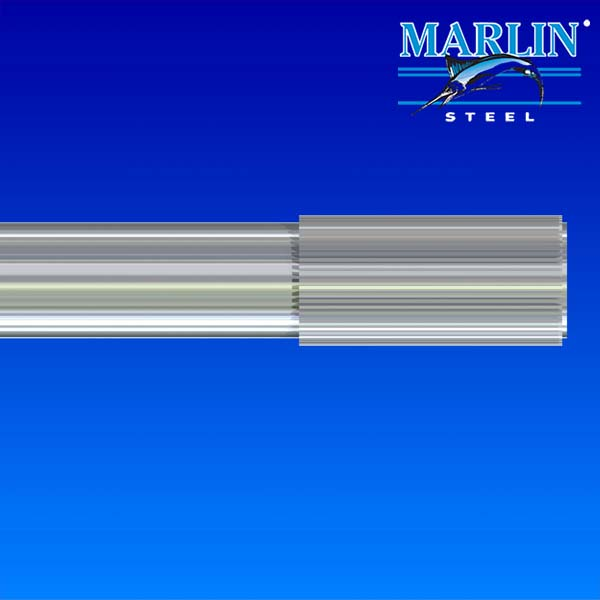 Marlin Steel Straight Knurl Wire Form
