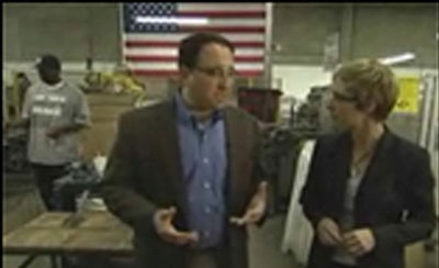 BBC News interview - Free Trade and Stimulus Package.
