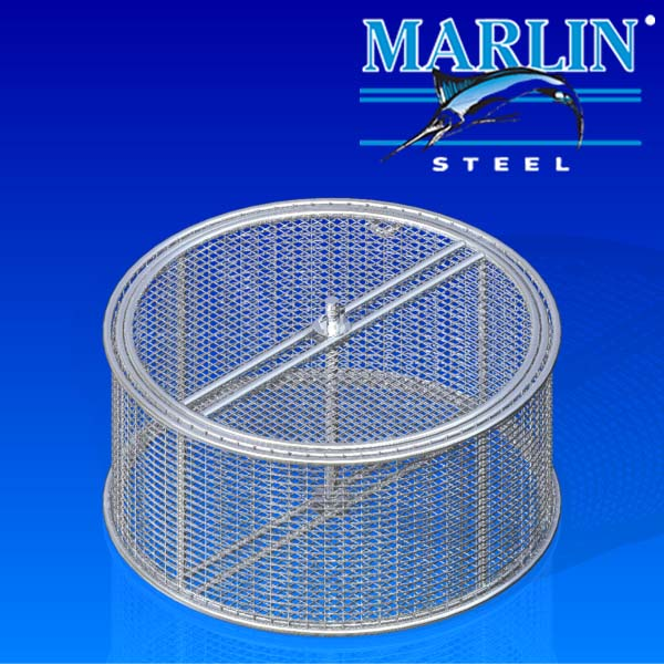 Wire Basket with Lid 672002