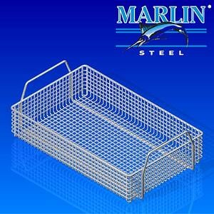 The thicker wires of this materials handling basket help it stand up to the punishing heat of the kiln-drying process.
