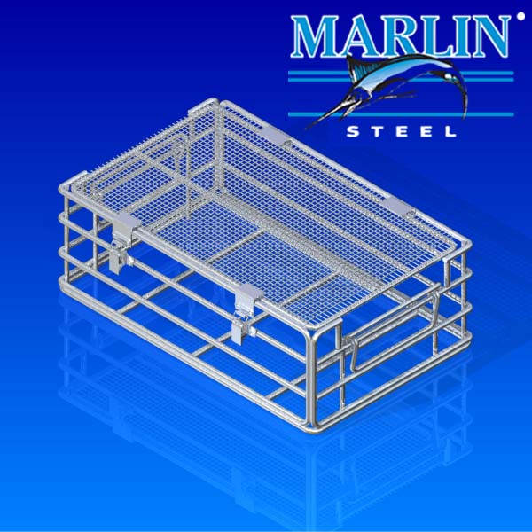 Wire Basket with Lid 938002