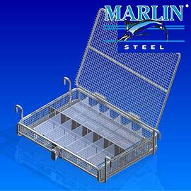 Wire Basket with Lid 986002