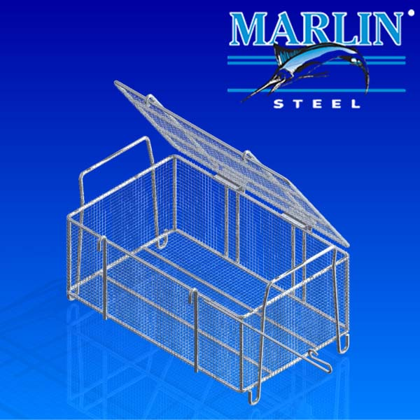 Wire Basket with Lid 533004