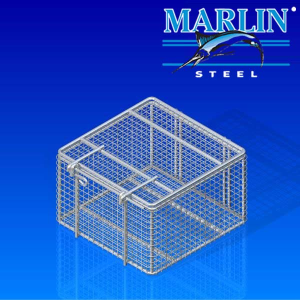 Wire Basket with Lid 633001