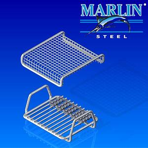 This two-piece basket design helped provide optimal protection and ease of loading/unloading for the client.