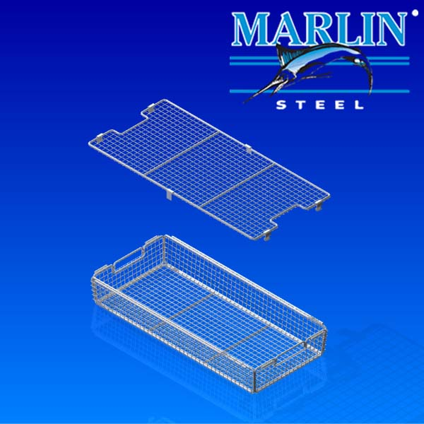 Wire Basket with Lid 895002