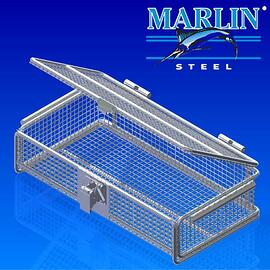 Wire Basket with Lid 1062001