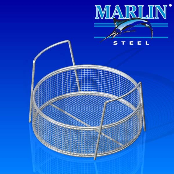 Marling Steel ultrasonic cleaning wire basket 222001