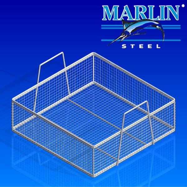 Marlin Steel Ultrasonic Cleaning Wire Basket 321001