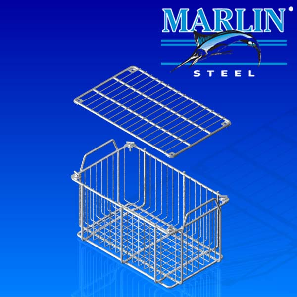 Wire Basket with Lid 479001