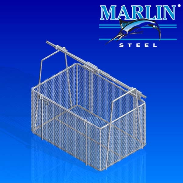 Wire Basket with Lid 761001