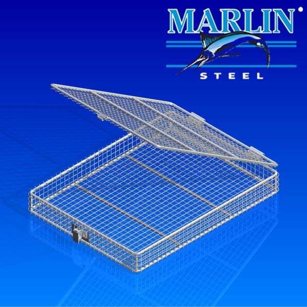 Wire Basket with Lid 789001