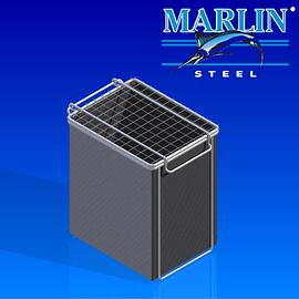 Wire Basket with Lid 316001