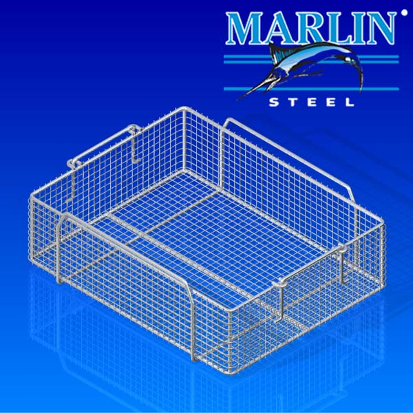 Marlin Steel Ultrasonic Cleaning Wire Basket 430010
