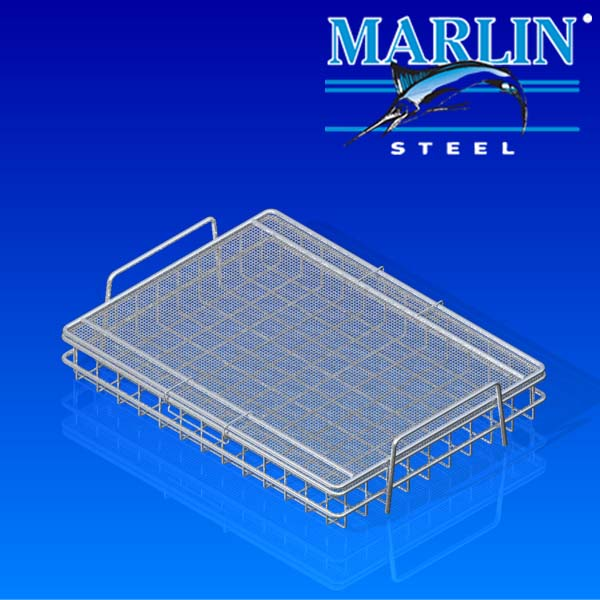Wire Basket with Lid 730002