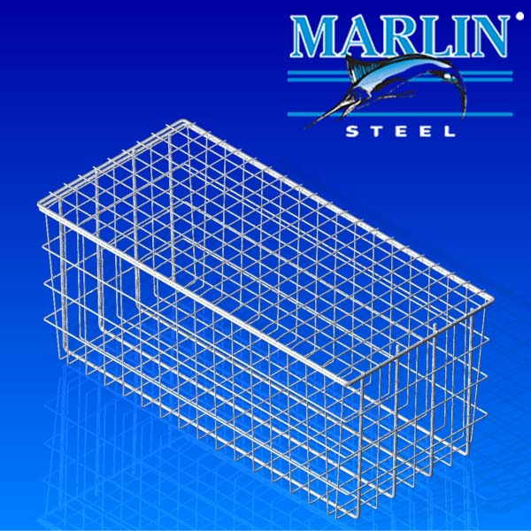 Wire Basket with Lid 734001