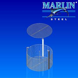 Wire Basket with Lid 874001