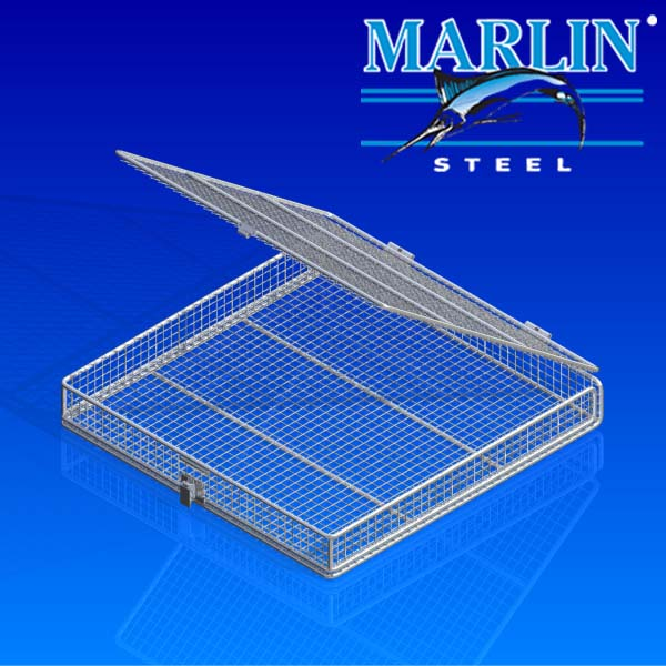 Wire Basket with Lid 956001