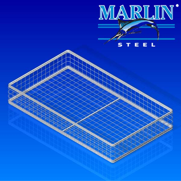 Marlin Steel Ultrasonic Cleaning Basket 45001