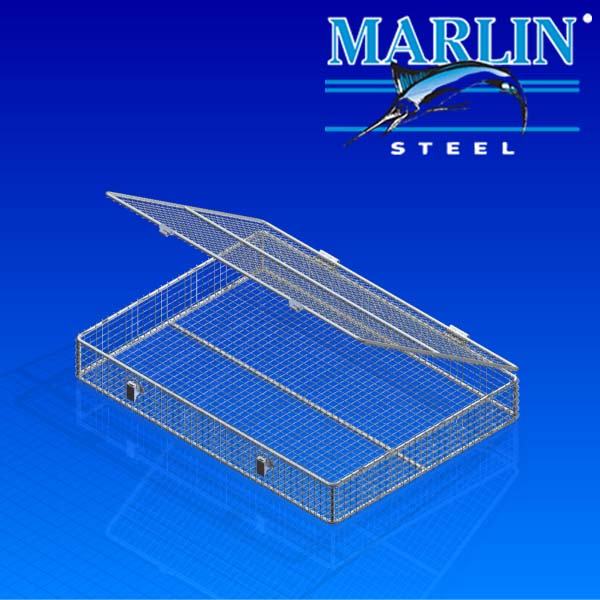 Wire Basket with Lid 852001