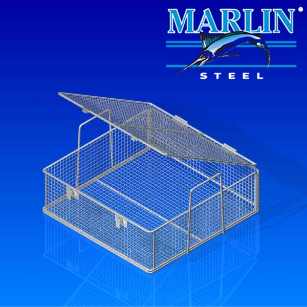 Wire Basket with Lid 1072001