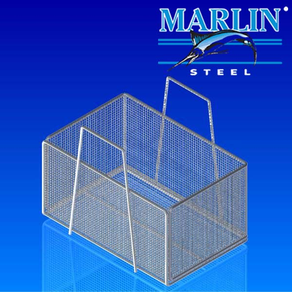 Marlin Steel Wire Mesh Ultrasonic Cleaning Basket 1147001