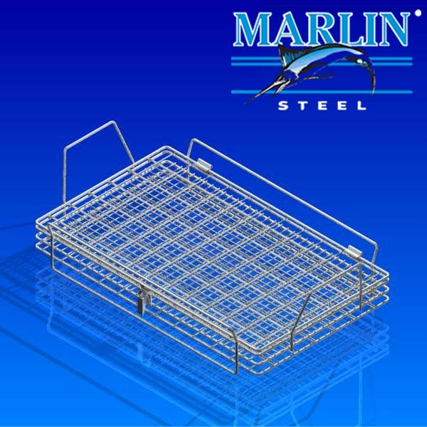 Wire Basket with Lid 1119001