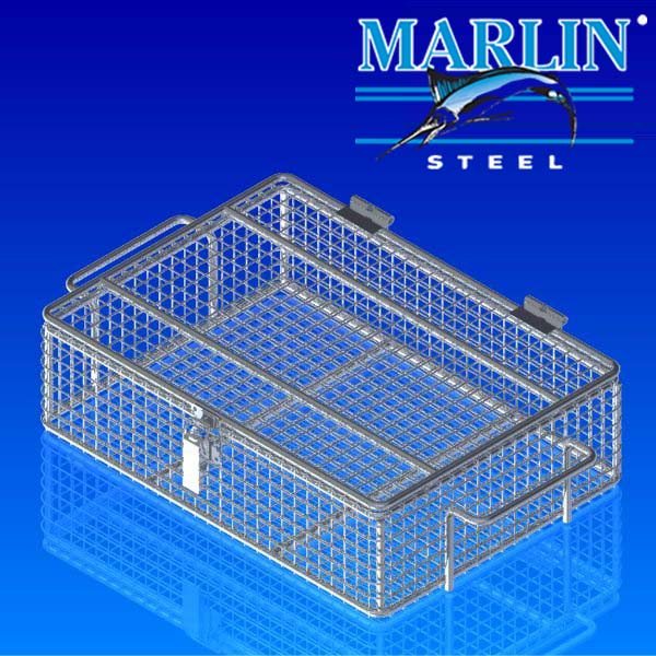 Marlin Steel Baskets with Lids 1151001
