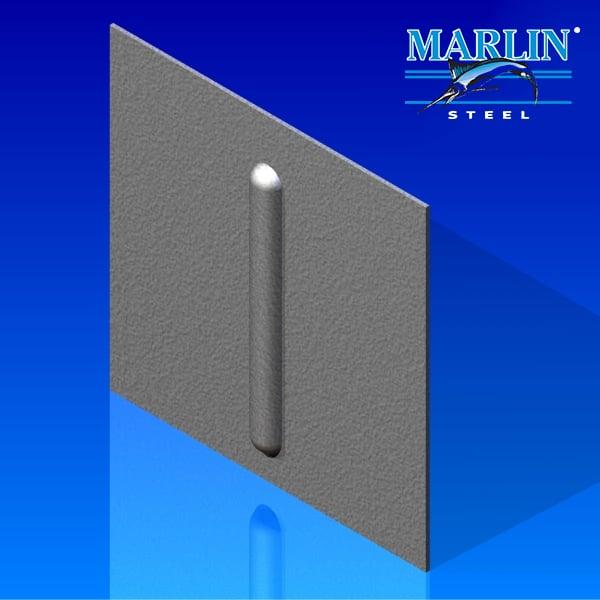 Marlin Steel Metal Stamping Emboss Beading