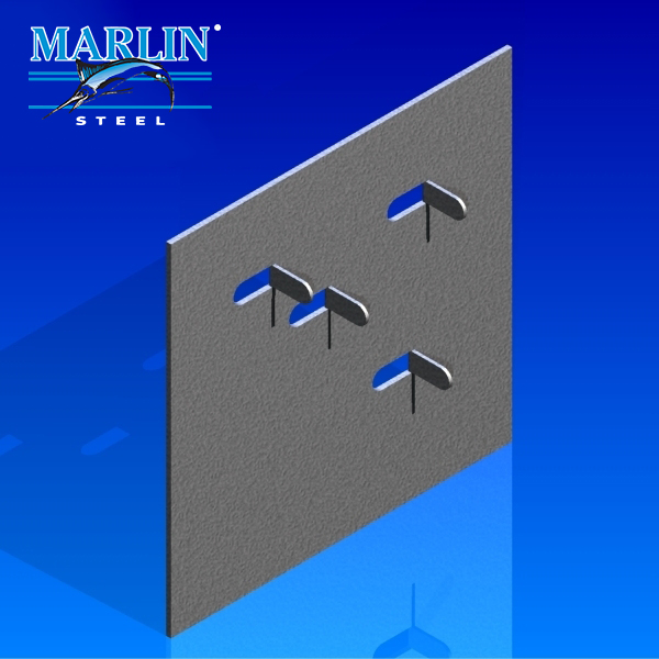 Marlin Steel Metal Stamping Lance Form