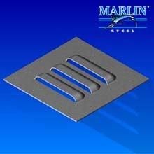 Marlin Steel Metal Stamping Louver