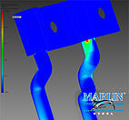 Marlin Steel's Stress Analysis Test