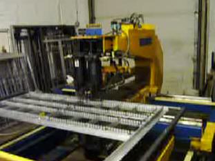 Marlin Steel's welding machine