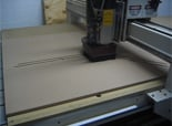 CNC Router in action