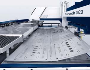 We make custom sheet metal