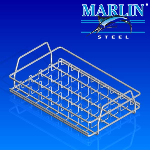 Marlin Steel Wire Basket with Handles 163003