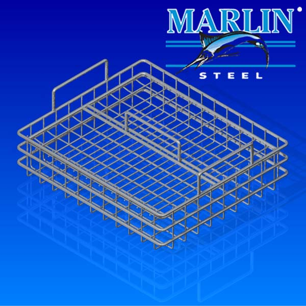 Wire Basket with Lid 57003