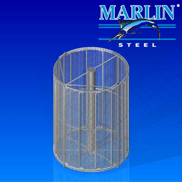 Marlin Steel Wire Basket 1061001