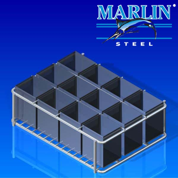 Marlin Steel Wire Basket 1143001