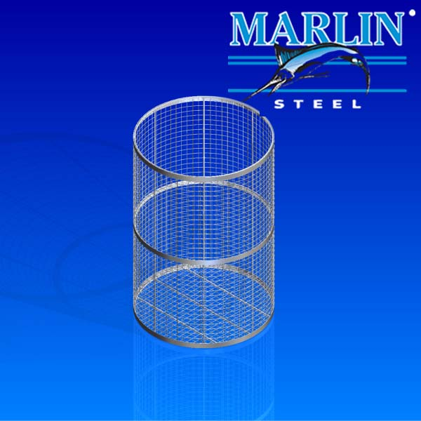 Marlin Steel Round Wire Basket 999001