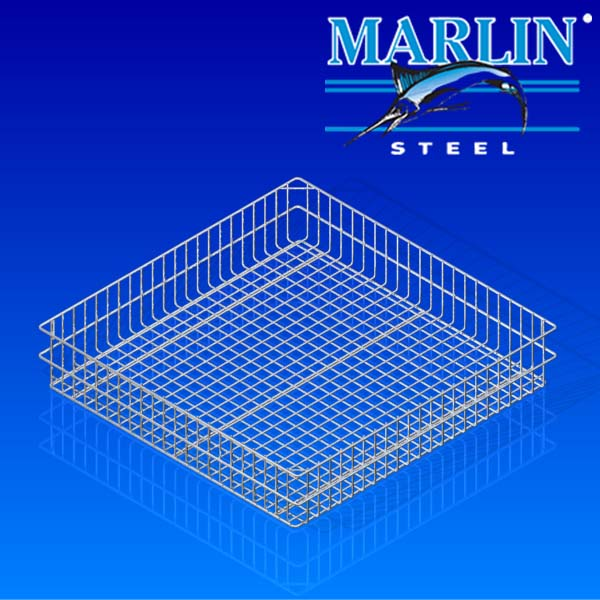 Marlin Steel Wire Basket 1051001