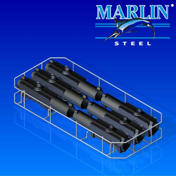 Marlin Steel Wire Basket 1081002