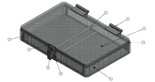 Wire Baskets To Wash Circuit Boards
