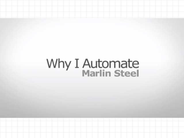 Assoc for Advancing Automation Marlin Steel