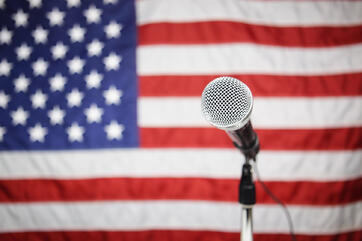 Microphone_In_front_of_American_Flag